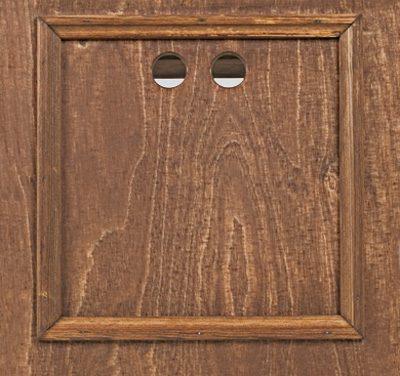 façade repose-pieds présentation en bois